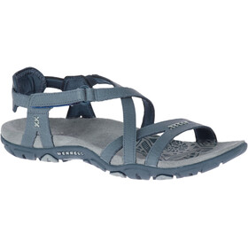 Merrell Sandspur Rose Leather Sandals Women Slate